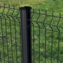 Complément Panneau Rigide PREMIUM + poteau à clips - Noir | Gris anthracite | Blanc