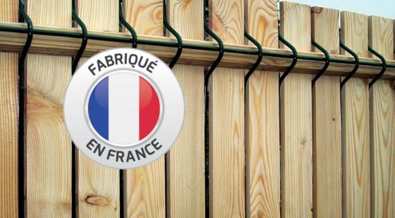 Occultation KIT bois de Mélèze pour panneaux rigides
