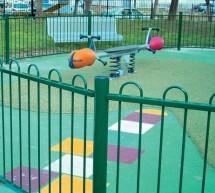 Clôture Aire de Jeux - Panneaux & Portillon